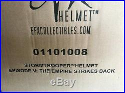 Star Wars THE EMPIRE STRIKES BACK STORMTROOPER HELMET 11 EFX FactorySEALED RARE
