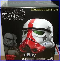 Star Wars The Black Serie INCINERATOR STORMTROOPER Electronic Helmet Mandalorian