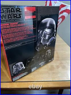 Star Wars The Black Series Battlefront Shadow Trooper Helmet Exclusive