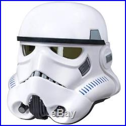 Star Wars The Black Series Electronic Voice Changer Stormtrooper Helmet NEW