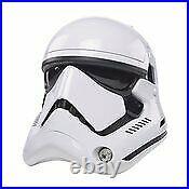 Star Wars The Black Series First Order Stormtrooper Electronic Helmet PRESALE