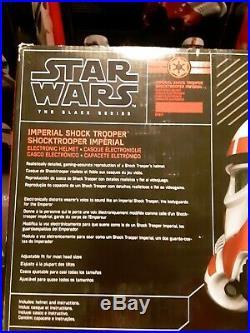 Star Wars The Black Series Imperial Shock Trooper Helmet. Gamestop exclusive