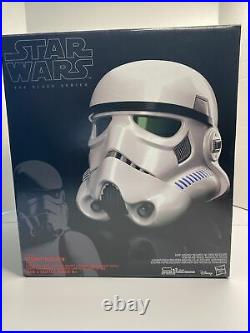 Star Wars The Black Series Imperial Stormtrooper Helmet Helmet Only No Voice