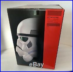 Star Wars The Black Series Imperial Stormtrooper Helmet Voice Changer New