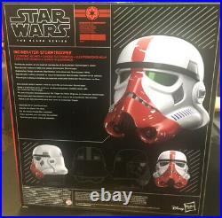 Star Wars The Black Series Incinerator Stormtrooper Electronic Helmet Trooper