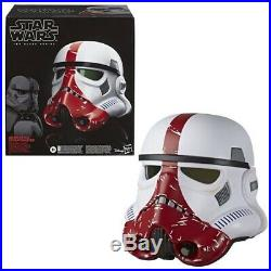 Star Wars The Black Series Incinerator Stormtrooper Helmet -Dec 2019 Shipping