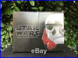 Star Wars The Black Series Incinerator Stormtrooper Helmet NEW / FAST SHIP