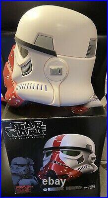 Star Wars The Black Series Incinerator trooper Mandalorian Helmet