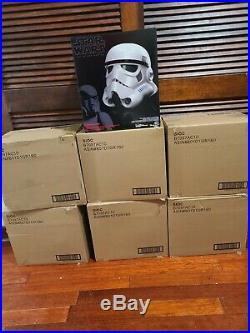 Star Wars The Black Series Rogue Imperial stormtrooper helmet -voice changer