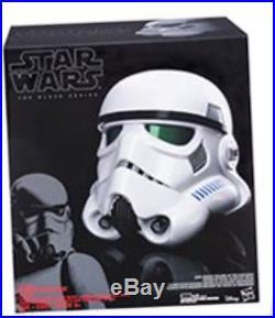 Star Wars The Black Series Rogue One Imperial Stormtrooper Voice-Changer Helmet