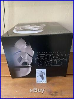 Star Wars The Black Series Stormtrooper Voice Changer Helmet Brand New In Hand