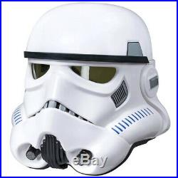Star Wars The Black Series Stormtrooper Voice Changer Helmet NON MINT