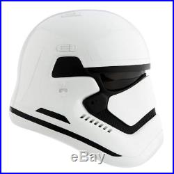 Star Wars The Force Awakens ANOVOS First Order Stormtrooper Fiberglass Helmet