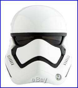 Star Wars The Force Awakens ANOVOS First Order Stormtrooper Helmet Replica