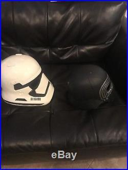 Star Wars The Force Awakens Adult Kylo Ren & First Order Stormtrooper Helmet
