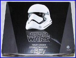 Star Wars The Force Awakens First Order Stormtrooper Full Size Helmet NEW