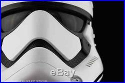 Star Wars The Force Awakens First Order Stormtrooper Helmet Prop Replica ANOVOS