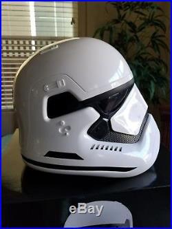 Star Wars The Force Awakens First Order Stormtrooper movie Prop Replica Helmet