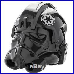 Star Wars Tie Fighter pilot standard helmet prop replica Anovos