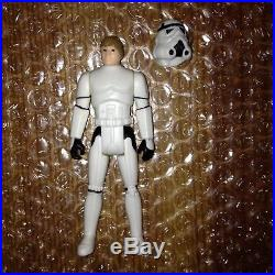 Star Wars Vintage Kenner Luke Skywalker STORMTROOPER Helmet LAST 17 POTF 1984! @