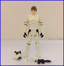 Star Wars Vintage Kenner Luke Stormtrooper with Original Helmet and Blaster
