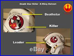 Star Wars X Wing 11 Pilot Prop Cosplay Helmet Stormtrooper Deathstar