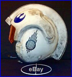 Star Wars Yavin / Rogue One Design Weathered X-Wing Helmet 11 Costume / Prop
