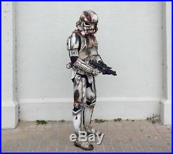 Star Wars Zombie Death Stormtrooper Cosplay Costume armour and helmet