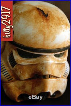 Star Wars black series stormtrooper helmet custom The mandalorian Cosplay
