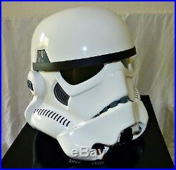 Star Wars original Master Replicas Stormtrooper Helm 11 Replikat Rarität Helmet