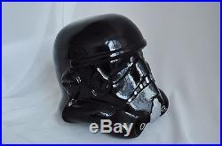 Star Wars stormtrooper helmet black Shadowtrooper version