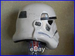 Star Wars stormtrooper sandtrooper helmet ANH prop accurate no Vader no armor