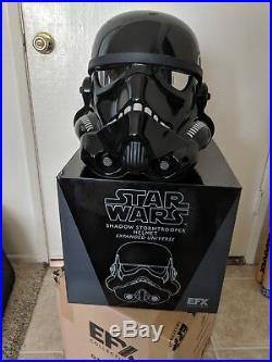 Star Wars x EFX Collectibles Shadow Stormtrooper Helmet