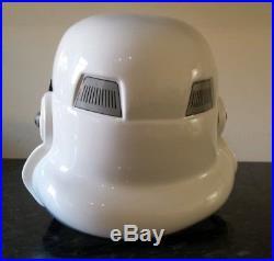 Star wars Stormtrooper Plastic formed Stunt helmet NEW Full size armour costume