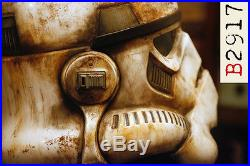 Star wars black series stormtrooper helmet 11 custom paint sand trooper rogue