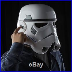 Star wars black series stormtrooper helmet full size electronic voice new sealed