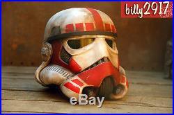 Star wars black series stormtrooper helmet shock trooper custom paint