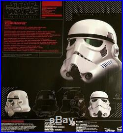 Star wars black series stormtrooper voice changer helmet