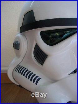 Star wars master replicas 11 hero stormtrooper helmet LE, anh, very rare