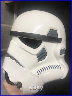 Star wars master replicas stormtrooper helmet 1/1 bust prop boba Starwars