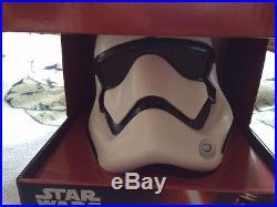 Star wars the force awakens First order stormtrooper deluxe helmet