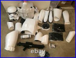 Stormtrooper Costume Armor Full Set NEW Star Wars Unbranded Helmet Blaster