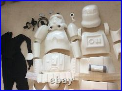 Stormtrooper Helmet And Armour Full Size costume prop Star Wars + extras
