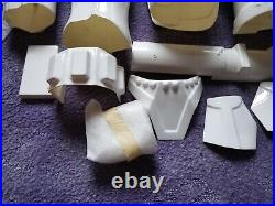 Stormtrooper Helmet And Armour Full Size star wars costume used