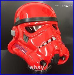 Stormtrooper Helmet Magma Red