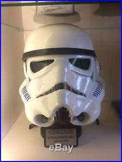 Stormtrooper Helmet RS propmasters ESB prop Star Wars