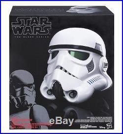 Stormtrooper Voice Changer Helmet Star Wars The Black Series Full Size Replica