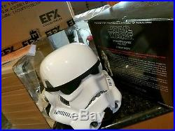 Stormtrooper helmet EFX A NEW HOPE STAR WARS armor episode IV awesome