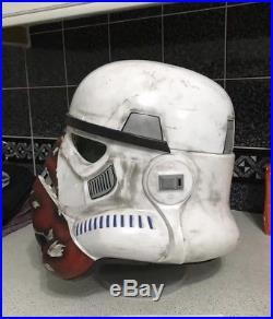 Stormtrooper incinerator trooper Helmet 1/1 Scale black series