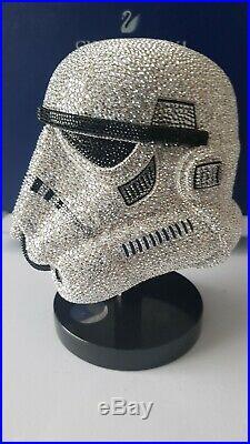 Swarovski Crystal Myriad Star Wars Stormtrooper Helmet L. E. Art No 5348062